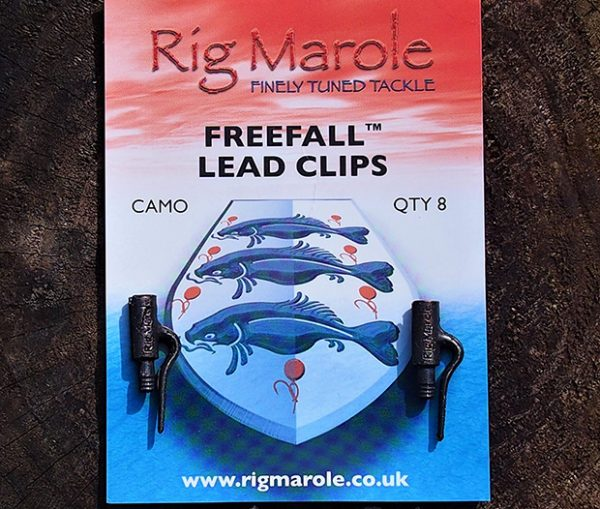 Rig Marole - Freefall Lead Clips Camo 1