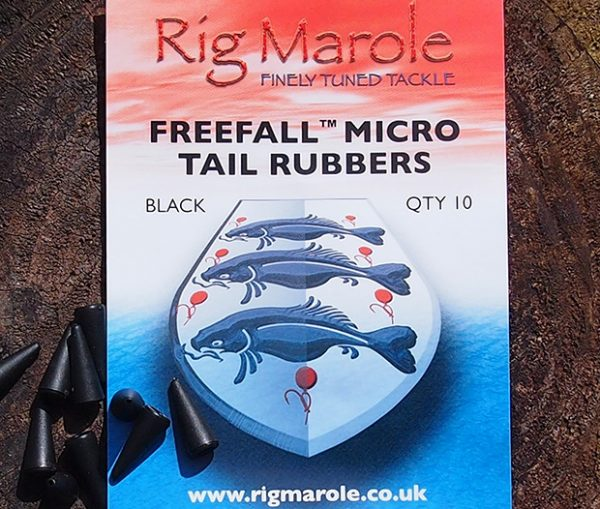 Rig Marole - Freefall Tail Rubbers Green Micro 1