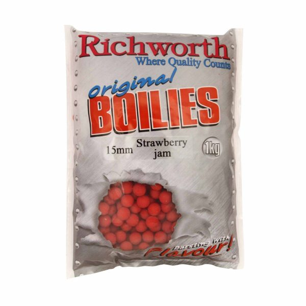 Richworth - Strawberry Jam Boilies 400g 1