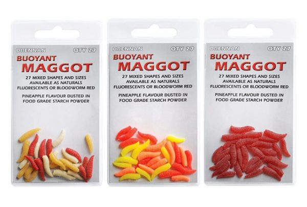 Drennan Buoyant Maggot - Bloodworm Red 1