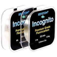 Kryston Incognito Fluorocarbon 50mts 7lb 0.25mm 1