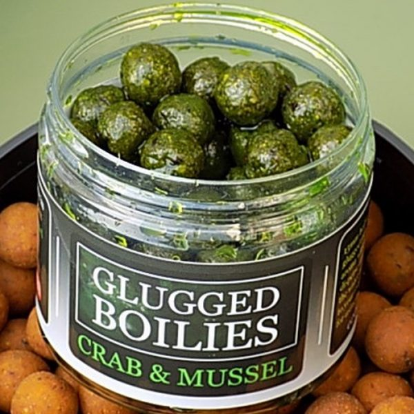 Angling Bait Company - Glugged Boilies Crab & Mussel 1