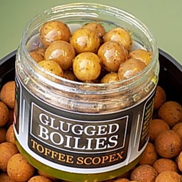 Angling Bait Company - Glugged Boilies Toffee Scopex 1